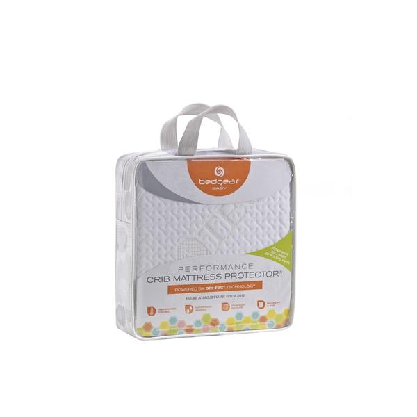 Bedgear Baby Dri-Tec Moisture Wicking Waterproof Crib Mattress Protector