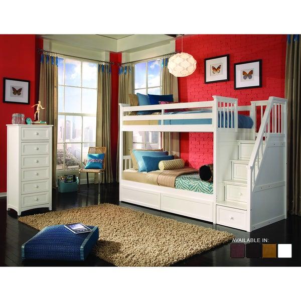 School House White Stair Bunk 20648074