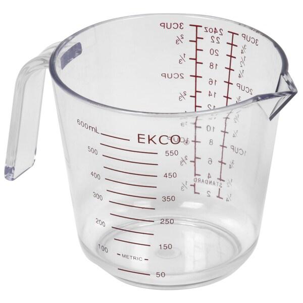 Ekco 1094899 3 Cup Plastic Measuring Cup 20652258