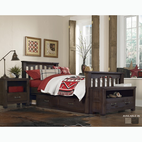 Highlands Collection Harpo Espresso Twin Bed