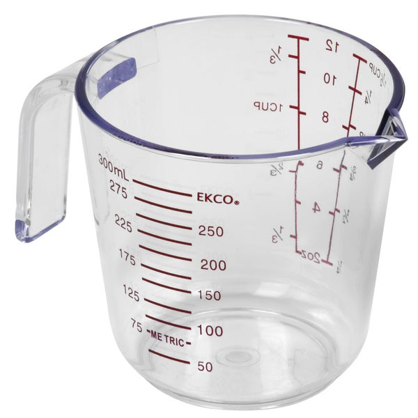 Ekco 1094898 1.5 Cup Plastic Measuring Cup 20652265