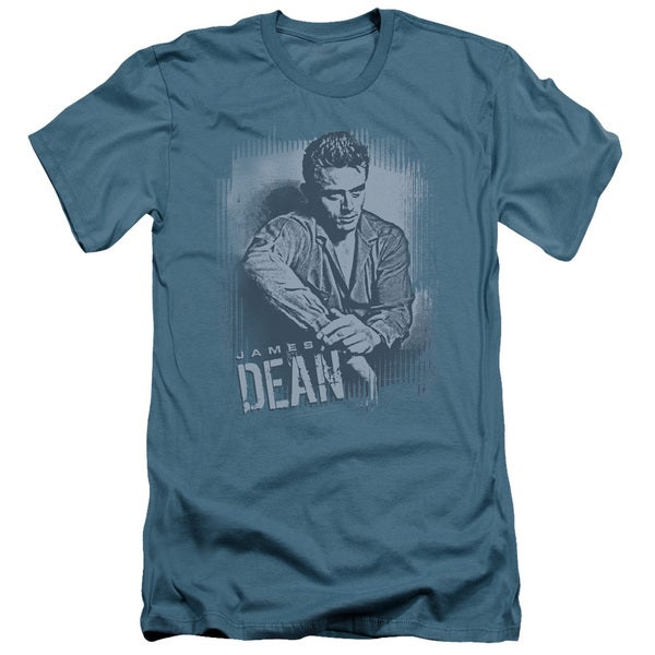 Dean/Not Amused Short Sleeve Adult T-Shirt 30/1 in Slate