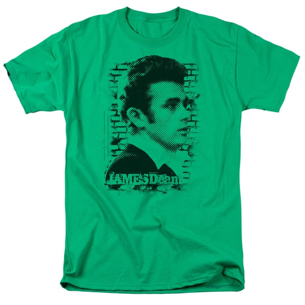Dean/Against The Wall Short Sleeve Adult T-Shirt 18/1 in Kelly Green