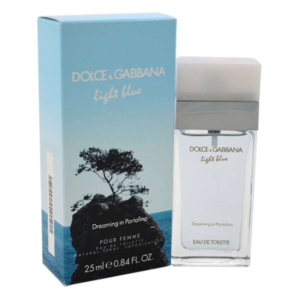 Dolce & Gabbana Light Blue Dreaming in Portofino Women's 0.84-ounce Eau de Toilette Spray