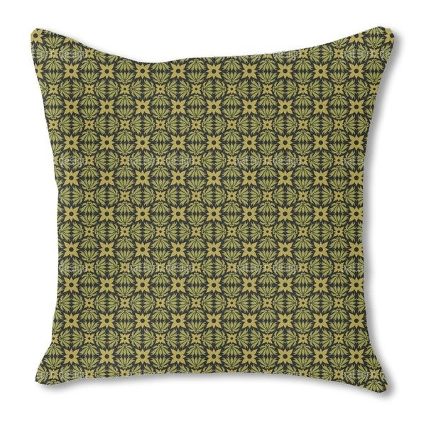Cabin Burlap Pillow Single Sided