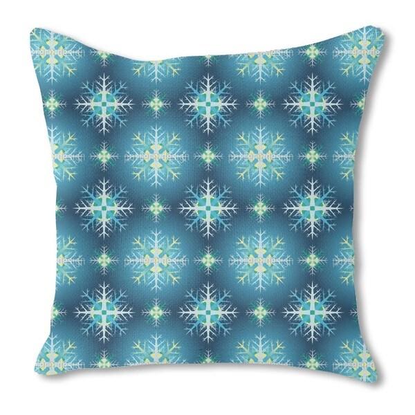 Diamond Dust Burlap Pillow Double Sided