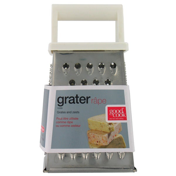 """Good Cook 15599 7"""" Stainless Steel Box Grater"""