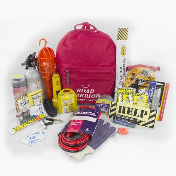 21 Piece Emergency Preparedness and Survival Kit for Cars Trucks