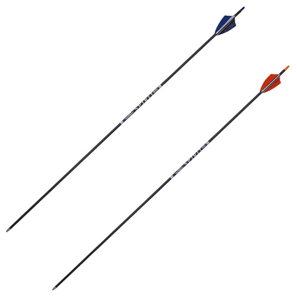 SAS Spirit Black Carbon Fiber Archery Arrows