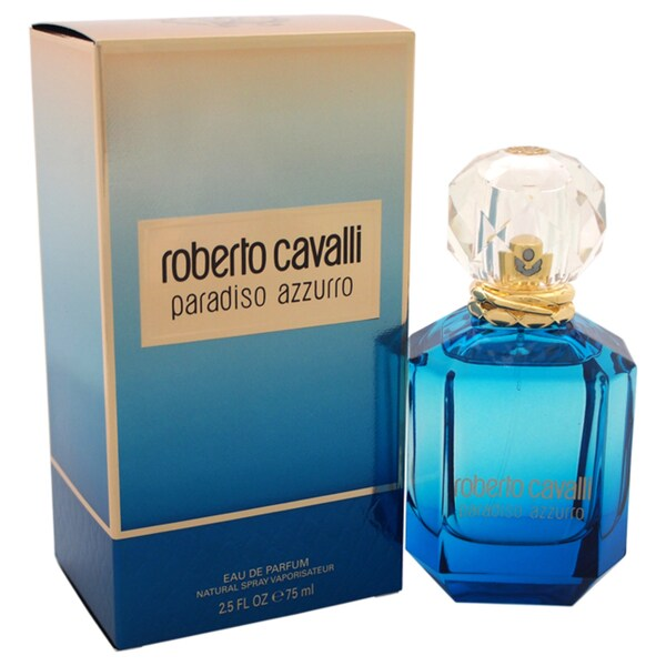 Roberto Cavalli Paradiso Azzurro Women's 2.5-ounce Eau de Parfum Spray