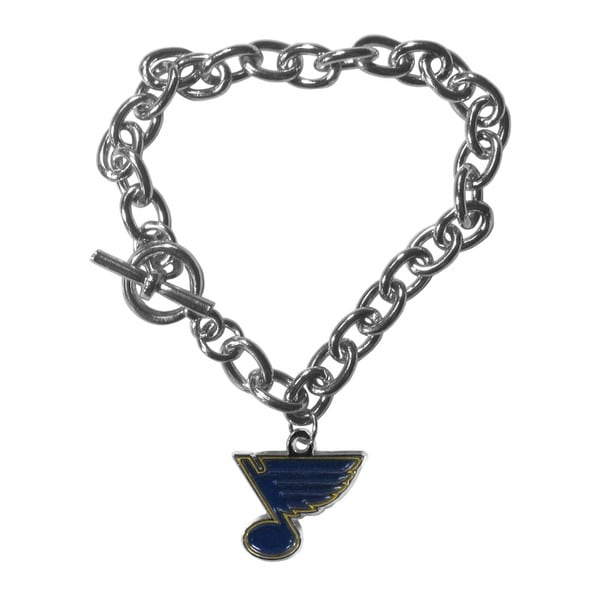 NHL St. Louis Blues Charm Chain Bracelet