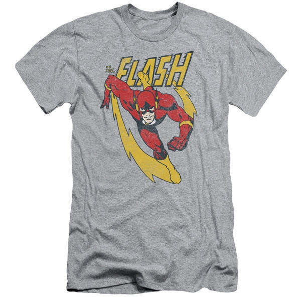 JLA/Lightning Trail Short Sleeve Adult T-Shirt 30/1 in Athletic Heather