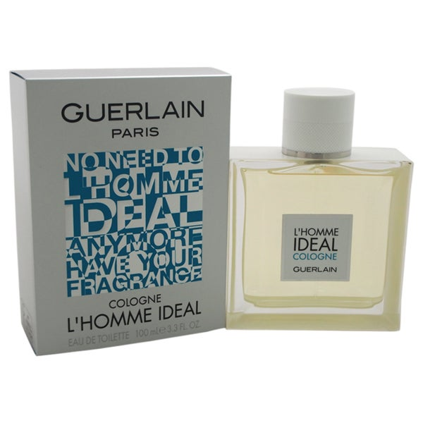 Guerlain L'Homme Ideal Cologne Men's 3.3-ounce Eau de Toilette Spray