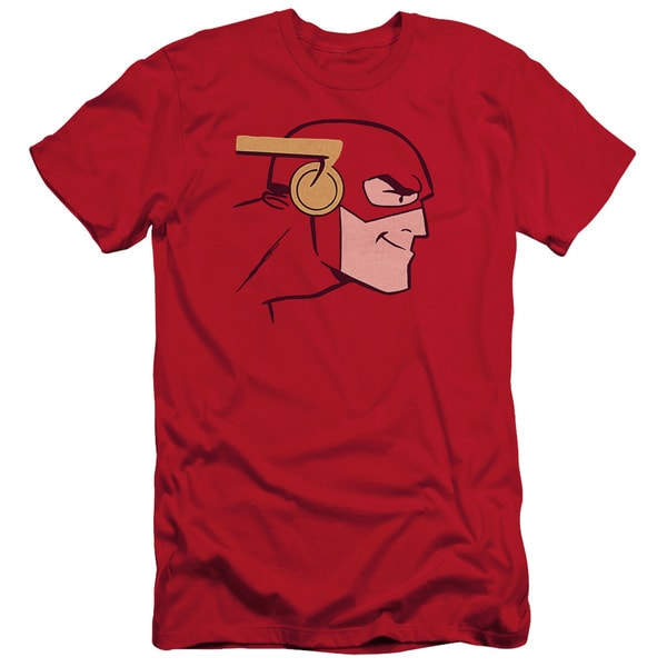 JLA/Cooke Head Short Sleeve Adult T-Shirt 30/1 in Red