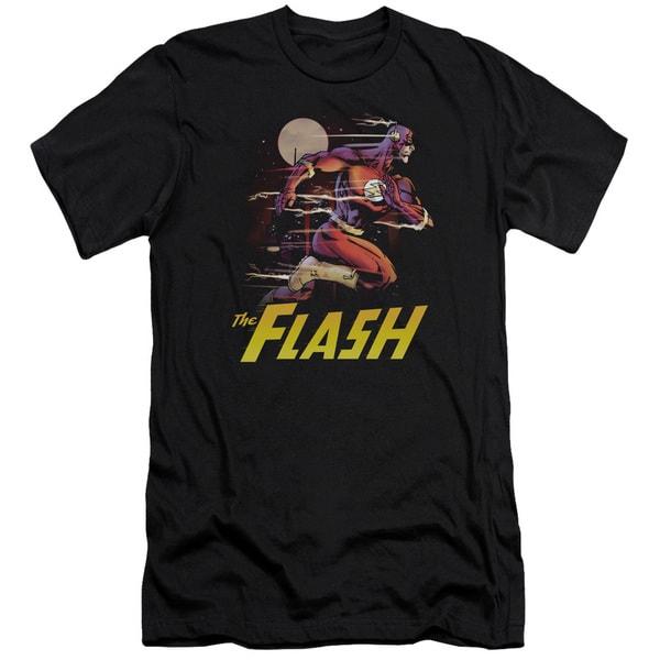 JLA/City Run Short Sleeve Adult T-Shirt 30/1 in Black