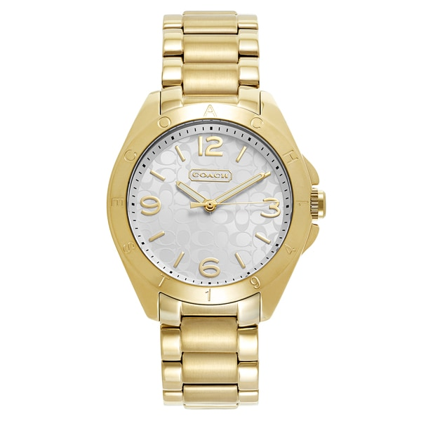 Coach Women's Gold Quartz Watch