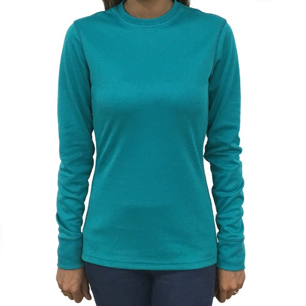 Narragansett Traders Women's Polyester Long-sleeve Crewneck Active Top