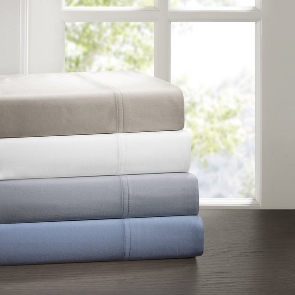 Sleep Philosophy Cotton Tencel Sheet Set 4-Color Option