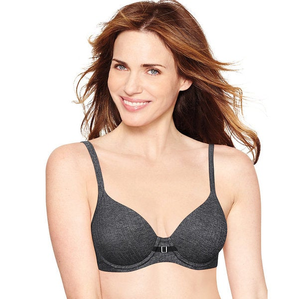 Hanes Ultimate Comfortblend T-shirt Natural Lift Bra