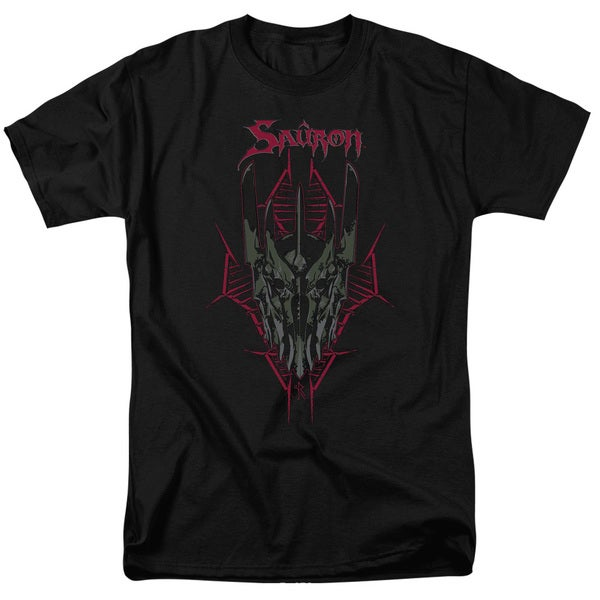 Hobbit/Evil's Helm Short Sleeve Adult T-Shirt 18/1 in Black