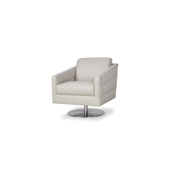 Eagle Grey Top Grain Leather Chair