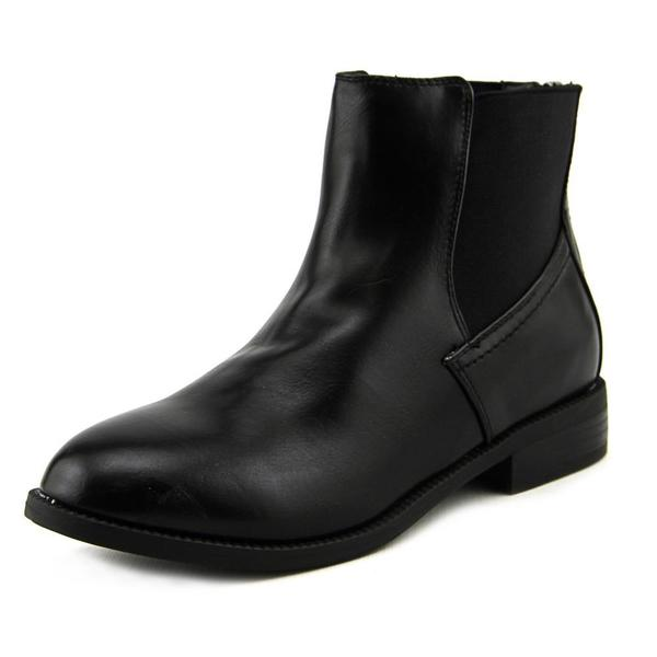 Wanted Women's Carver Black Synthetic Ankle-height Boots
