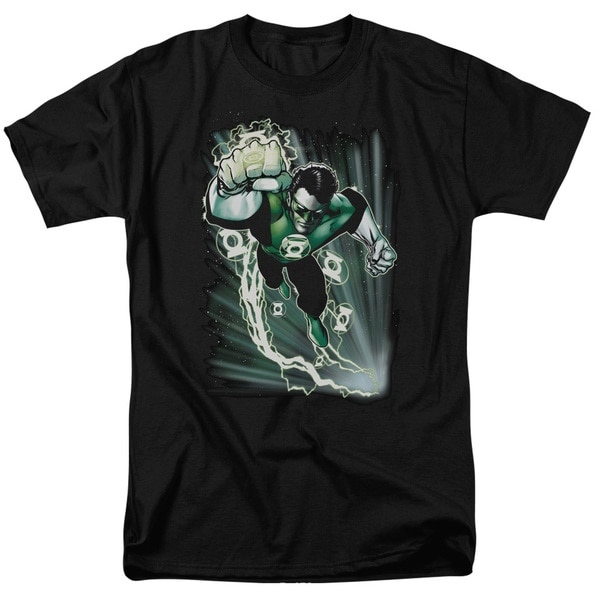 JLA/Emerald Energy Short Sleeve Adult T-Shirt 18/1 in Black