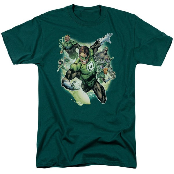 JLA/Flying Corps Short Sleeve Adult T-Shirt 18/1 in Hunter Green