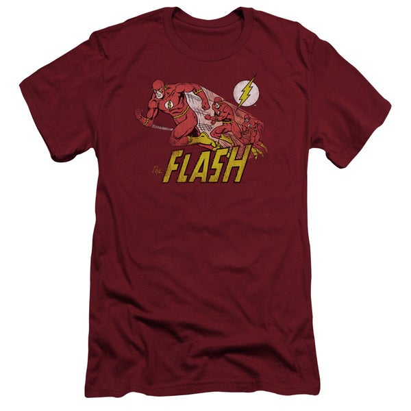 DC/Crimson Comet Short Sleeve Adult T-Shirt 30/1 in Cardinal