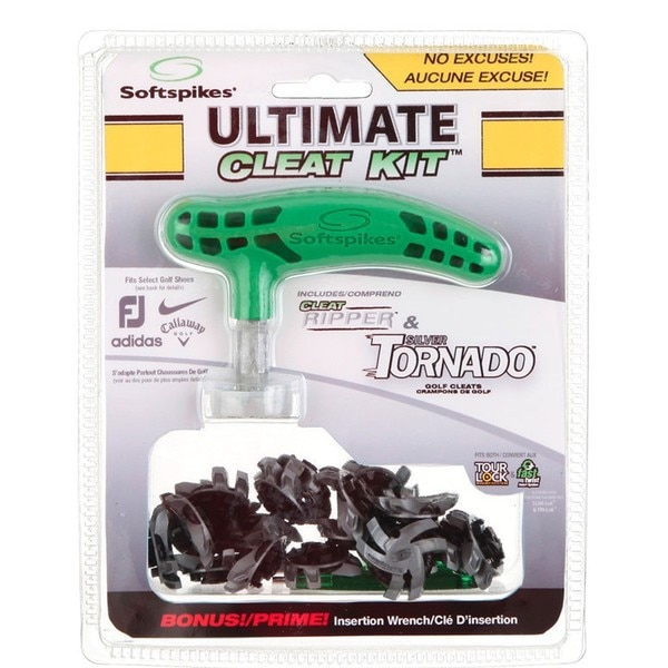 Softspikes Silver Tornado Ultimate Cleat Kit