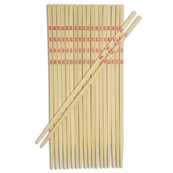Joyce Chen J30-0043 9-inch Burnished Bamboo Table Chopsticks