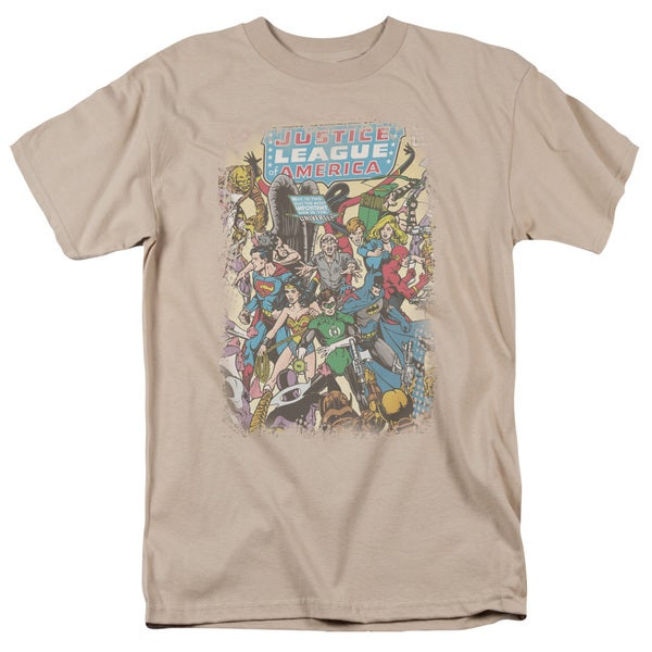 JLA/Most Important Man Short Sleeve Adult T-Shirt 18/1 in Sand