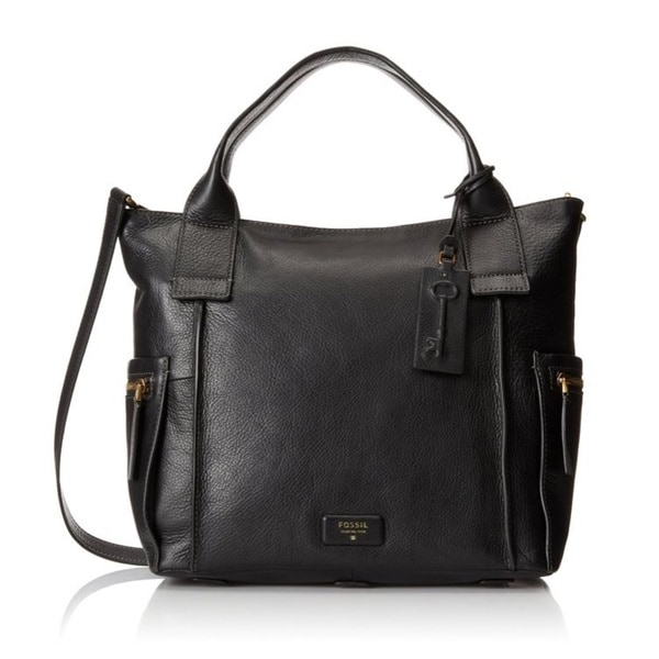 Fossil Emerson Top-Handle Bag - Black