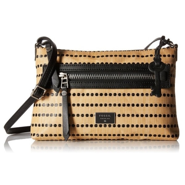 Fossil Dawson Cross Body Bag - Light Tan