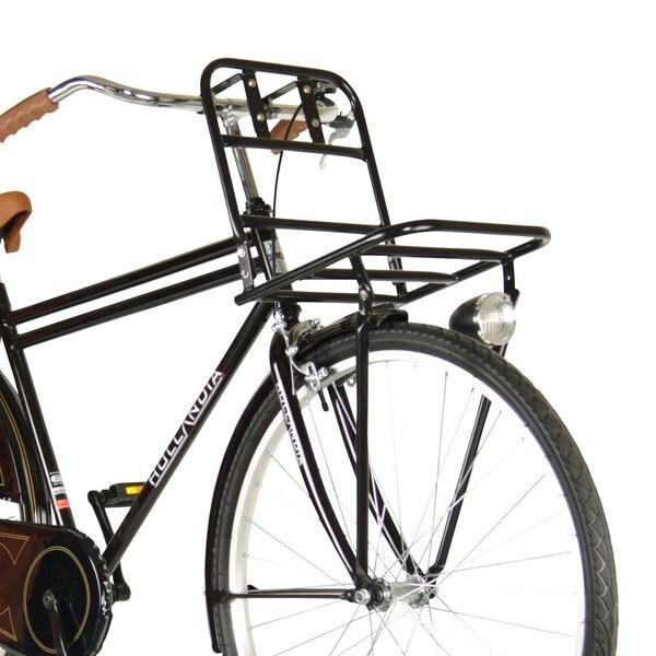 Hollandia Black Front Bicycle Rack