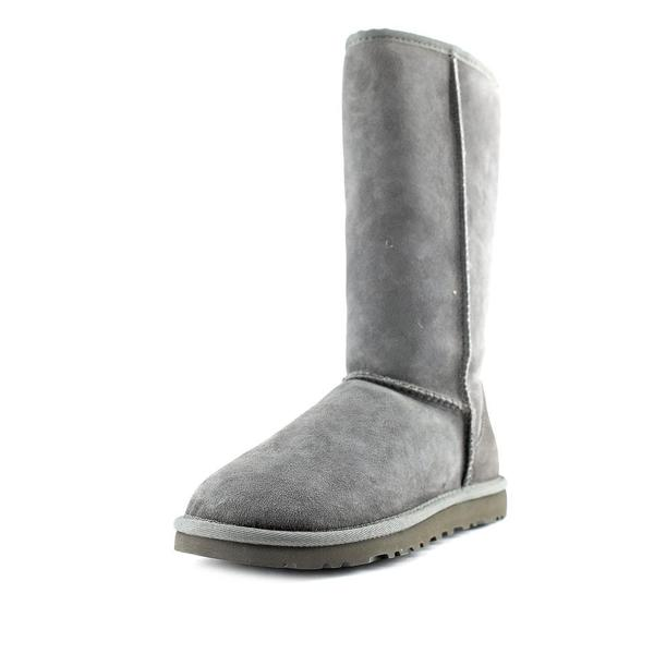 Ugg Australia Women's Classic Tall Regular Grey Suede Boots