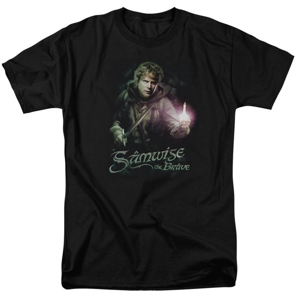 LOTR/Samwise The Brave Short Sleeve Adult T-Shirt 18/1 in Black