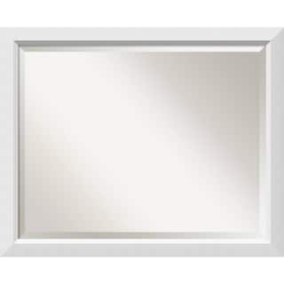 Bathroom Mirror Large, Blanco White 32 x 26-inch - 26 x 32 x 0.963 inches deep