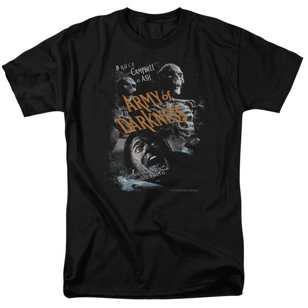 MGM/Army Of Darkness/Covered Short Sleeve Adult T-Shirt 18/1 in Black