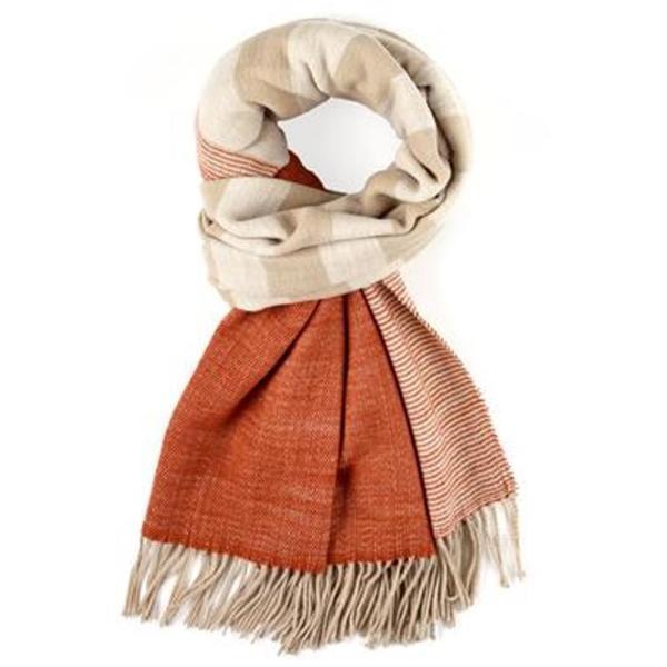 Echo Design Soft Stripe Acrylic Warm Blanket Wrap