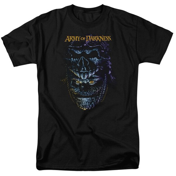 MGM/Army Of Darkness/Evil Ash Short Sleeve Adult T-Shirt 18/1 in Black