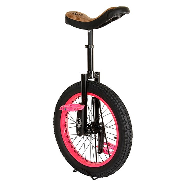 Koxx Fluo Pink 20-inch Trials Unicycle