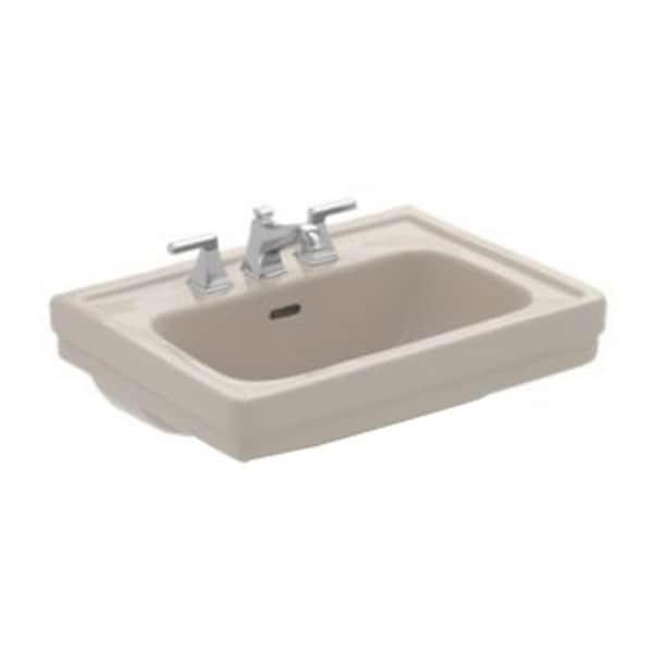 Toto Promenade Bone 8-inch Ctr 24-inch Lavatory Sink