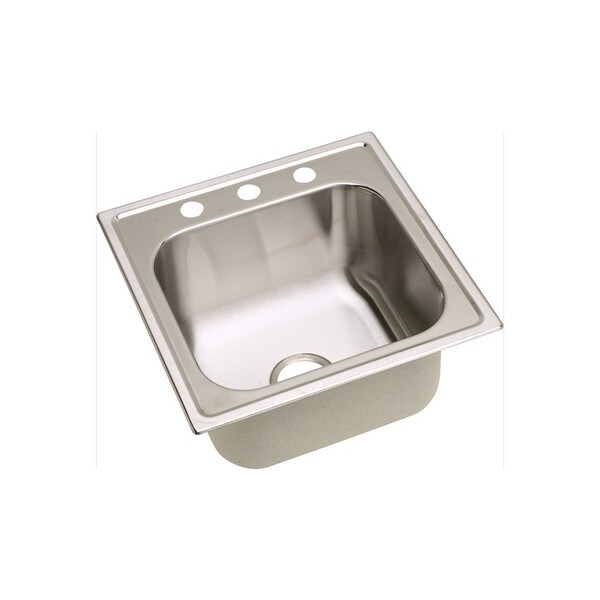 ... inch x 10.15625-inch Single-bowl Top-mount Laundry/Utility Sink