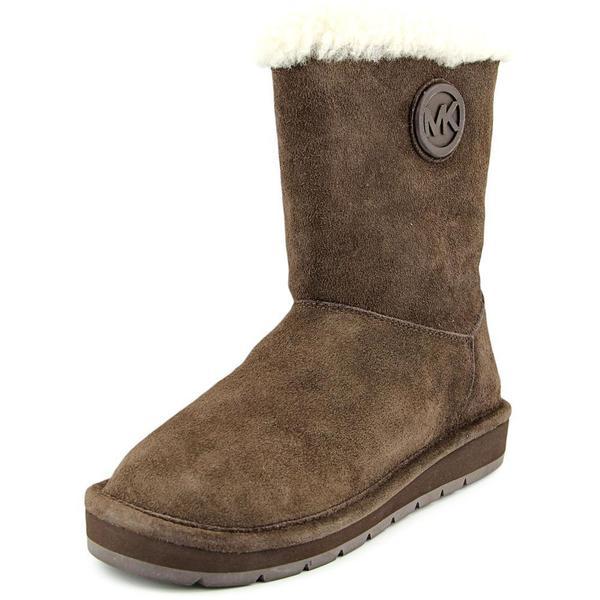 Michael Kors Women's 'Winter Mid Boot' Brown Suede Boots