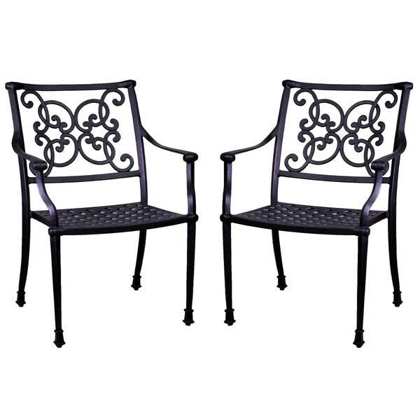 Azusa Aluminum Dining Chairs