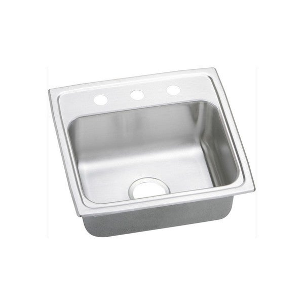 Elkay 20-gauge Stainless Steel 19-inch x 18-inch x 7.125-inch Single-bowl Top-mount Kitchen Sink