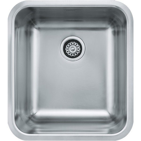 Franke Grande Series Stainless Steel 18-gallon Single Bowl Undermount Kitchen Sink