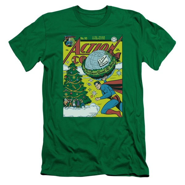 DC/Cover No. 93 Short Sleeve Adult T-Shirt 30/1 in Kelly Green