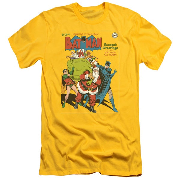 DC/Cover No. 27 Short Sleeve Adult T-Shirt 30/1 in Yellow